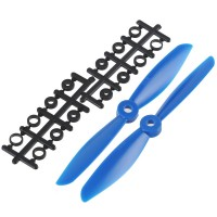 "6x4.5"" 6045 6045R Counter Rotating Propeller CW/CCW Blade For Quadcopter MultiCoptor-Blue"