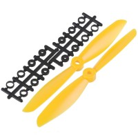 "7x4.5"" 7045 7045R Counter Rotating Propeller CW/CCW Blade For Quadcopter MultiCoptor-Yellow"
