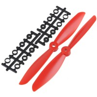 "7x4.5"" 7045 7045R Counter Rotating Propeller CW/CCW Blade For Quadcopter MultiCoptor-Red"