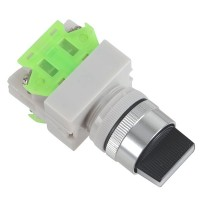 660V 10A 3 Positions Rotary Selector Push Button Switch