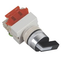 660V 10A 2 Positions Rotary Selector Push Button Switch