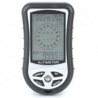 8in1 Multifunction Digital LCD Compass Altimeter Barometer Thermometer