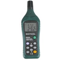 Mastech MS6508 Professional Temperature Humidity Meter Backlight