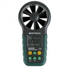 Mastech MS6252B Professional Digital Anemometer T&RH sensor Air Velocity Flow humidity
