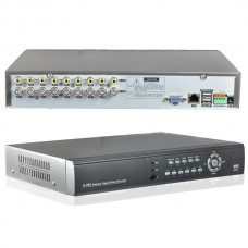 RS485 / Alarm 8CH Video BNC Input Network Security CCTV DVR System 1000GB HDD IN