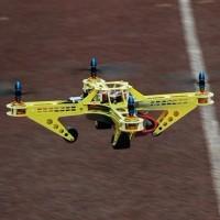 KK MK MWC QudCopter Frame Kit Glass Fiber Multicopter Multi-Rotor Yellow