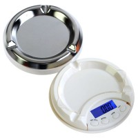 500g x 0.1g Professional Mini Digital Pocket Scale Ashtray AT-500