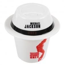 White Mini Coffee Cap Mist Humidifier USB Powered Air Purifier-Michael Jackson