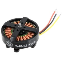 W4822 490KV Outrnner Brushless Motor for Quad HexCopter 24N22P