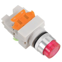 LAY7 (PBCY090)LAY37 Red Pushbutton Switch 24V Push Button