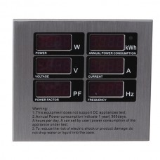 AKX06A Single Phase Digital Meter Voltmeter Multimeter AC110-220V
