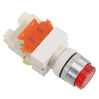 LAY7 (PBCY090)LAY37 Red Pushbutton Switch 220V Push Button