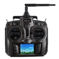 Walkera DEVO 8S 8-Ch 2.4Ghz Telemetry System Radio Transmitter with RX802 Receiver TX/RX