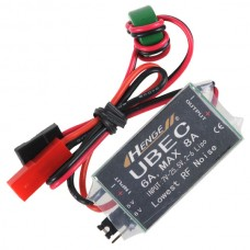HENGE 5v/6v 6A/8A 2-6S LIPO/ 6-16 Cell Ni-Mh Input Switch Mode UBEC BEC
