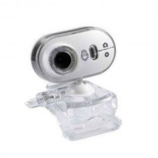 SSK SPC032 Webcam PC Camera with Micro and Speaker 1.3MP-White