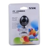 SSK DC-P330 USB PC Webcam USB 2.0 Driverless PC Camera Computer Camera-Black