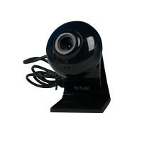 SSK Webcam DC-P350 HD PC Camera Webcams with Speaker Microphone-Black