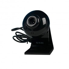 SSK Webcam DC-P350 HD PC Camera Webcams with Speaker Microphone-Black