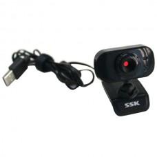 SSK DC-P335 USB PC Webcam Usb 2.0 Camera Driverless Computer Camera-Black