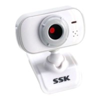 SSK DC-P335 USB PC Webcam Usb 2.0 Camera Driverless Computer Camera-White