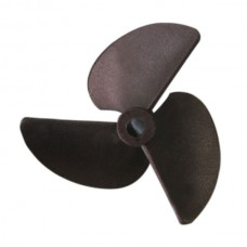 "3 Blade Nylon Propeller Prop P1.4*57mm Shaft 0.2"" for RC Boat 2pcs"