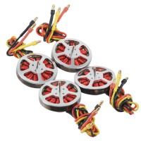 4pcs 800KV Brushless Outrunner Disk Motor with Motor Mount for RC Quadcopter Multicopter 4pcs