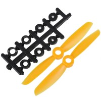 "4x4.5"" 4045 4045R Counter Rotating Propeller CW/CCW Blade For Quadcopter MultiCoptor-Yellow"
