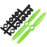 "4x4.5"" 4045 4045R Counter Rotating Propeller CW/CCW Blade For Quadcopter MultiCoptor-Green"