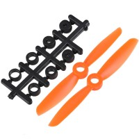 "4x4.5"" 4045 4045R Counter Rotating Propeller CW/CCW Blade For Quadcopter MultiCoptor-Orange"