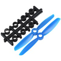 "4x4.5"" 4045 4045R Counter Rotating Propeller CW/CCW Blade For Quadcopter MultiCoptor-Blue"