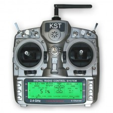 KST T810  2.4GHz PCM1024 8CH Transmitter and Receiver Set  for Airplanes  Helicopters Multicopter