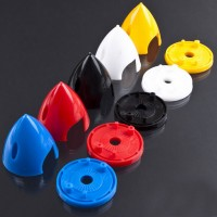 2.5 inch 64mm Spinner Blade Cover For RC Airplanes Multicopter Gloss Finish 2 blade Color Assorted