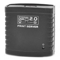 KONIX Network USB 2.0 Printer Server