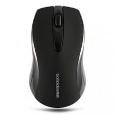 Bondidea T18 High Sensitivity 2.4Ghz Wireless Mouse AAA*2 Powered Black 1600DPI