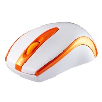 Bondidea T18 High Sensitivity 2.4Ghz Wireless Mouse AAA*2 Powered Orange 1600DPI