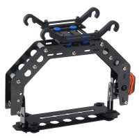 Single-axis Camera Gimbal Camera Mount Carbon Fiber with Servo for Multicopter Bumblebee