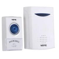 Wireless Doorbell 3VDC Smart Door Bell Alarm V006A 2*AA Batteries