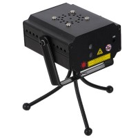 MN002RB-D4 Red/Green BiColor Stage Laser Light Lighting Tripod AC Power Supply