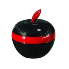 Car USB Dual Negative Ion Air Purifier Freshner Ionizer Computer Air Cleaner-Black