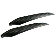 """1 Pair 14x9.5"""" 1495 1495R Carbon Fiber Folding CW CCW Propeller For MultiCopter"""