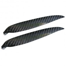 """1 Pair 16x8"""" 1680 1680R Carbon Fiber Folding CW CCW Propeller For MultiCopter"""