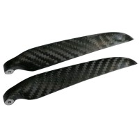 "1 Pair 11x6""II 1160 1160R Carbon Fiber Folding CW CCW Propeller For Helicopters or Airplane"