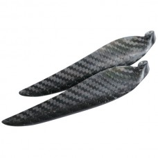 "1 Pair 12x8"" 1280 1280R Carbon Fiber Folding CW CCW Propeller For MultiCopter"