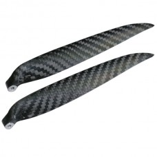 "1 Pair 13x7"" 1370 1370R Carbon Fiber Folding CW CCW Propeller For MultiCopter"