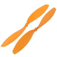 LotusRC T580P+ 1447 Propeller CW&CCW lockwise & Counter-clockwise Orange (1-Pair)