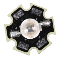 5w 940nm Infrared Ray LED 1.5V-1.7V with 20mm Base Board