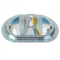 107mm LED Optical Convex Glass Lens with Silicone Seal and Holder