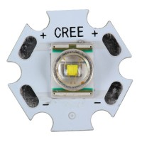 CREE X-RE Super Power LED Light with 20mm Aluminum Base Board