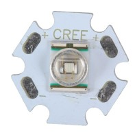 Cree XLamp XR-E Emitter with Alumnium Base Board-Red
