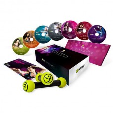 Zumba Fitness Exhilarate Ultimate 7 DVD Set with 2 Toning Stick